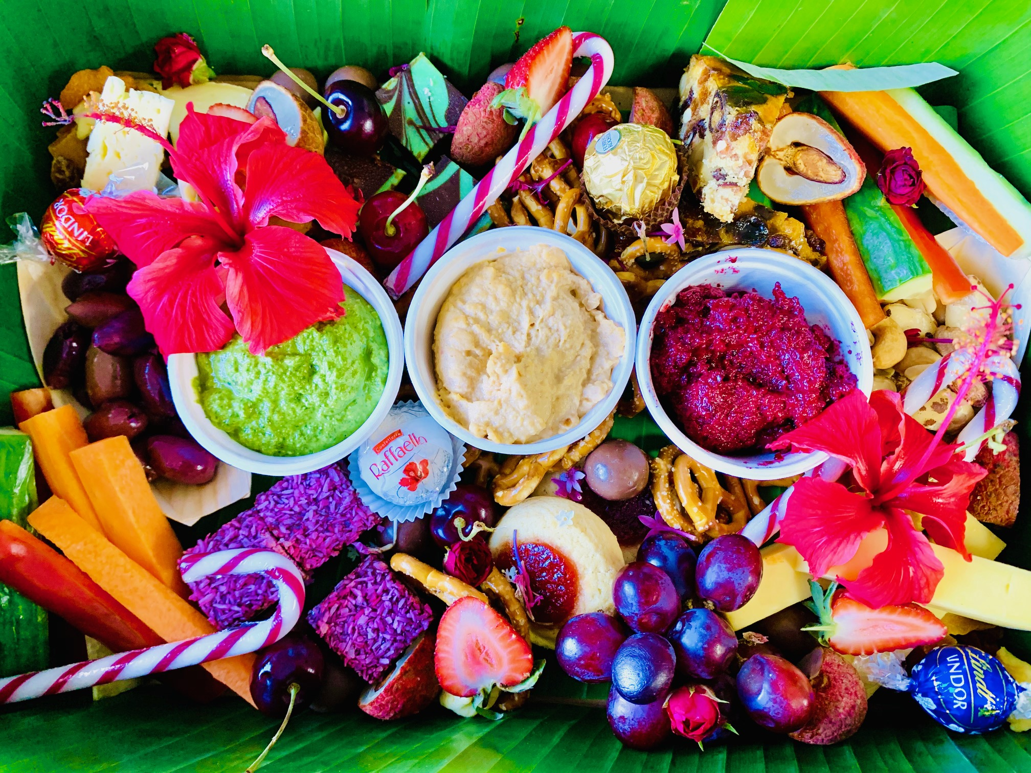 Sweet And Savoury Christmas Gift Platter Tropic Spirit Catering Cairns